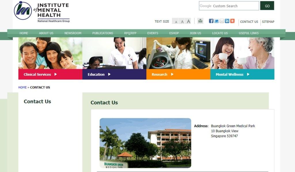 Buangkok Green Top Psychiatric Centres in Singapore