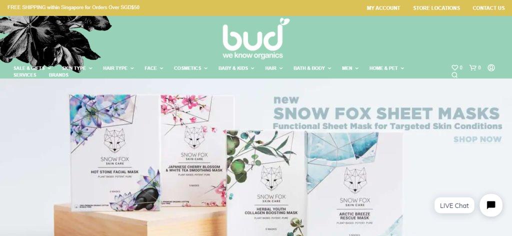 Bud Cosmetics Top Aromatherapy Retailers in Singapore