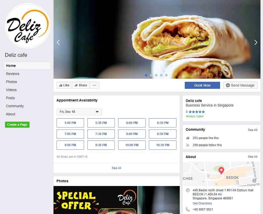 Deliz Cafe Top Turkish Restaurants in Singapore