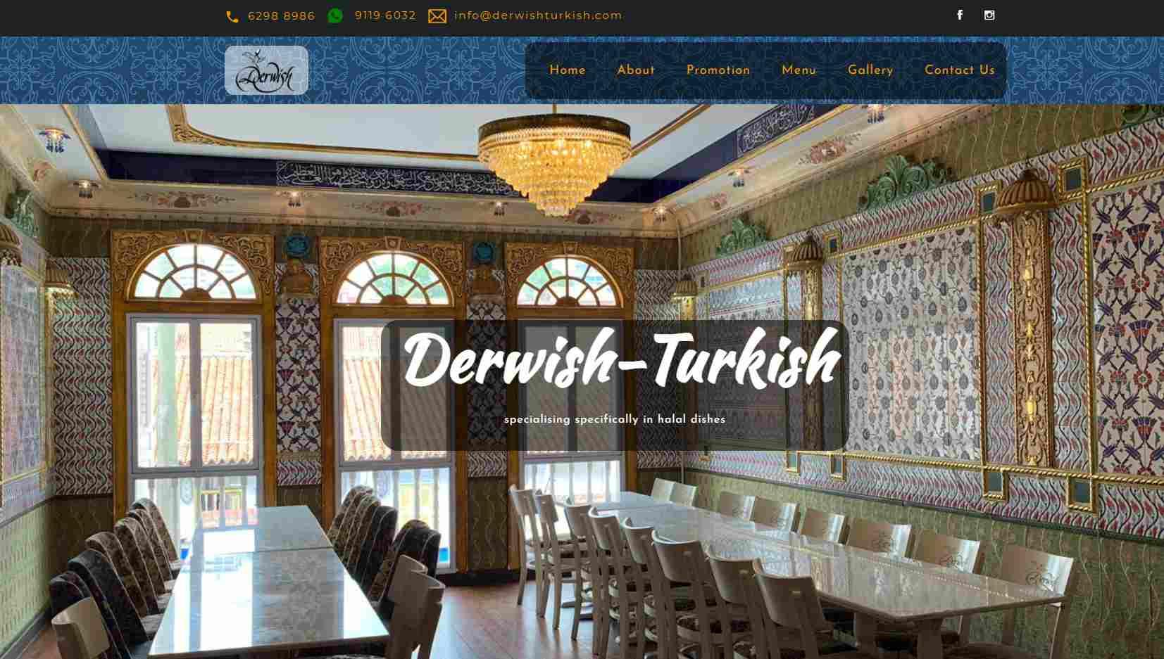 Derwish Turkish Top Turkish Restaurants in Singapore