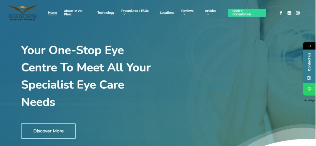 Eagle Eye Top Eye Doctors in Singapore