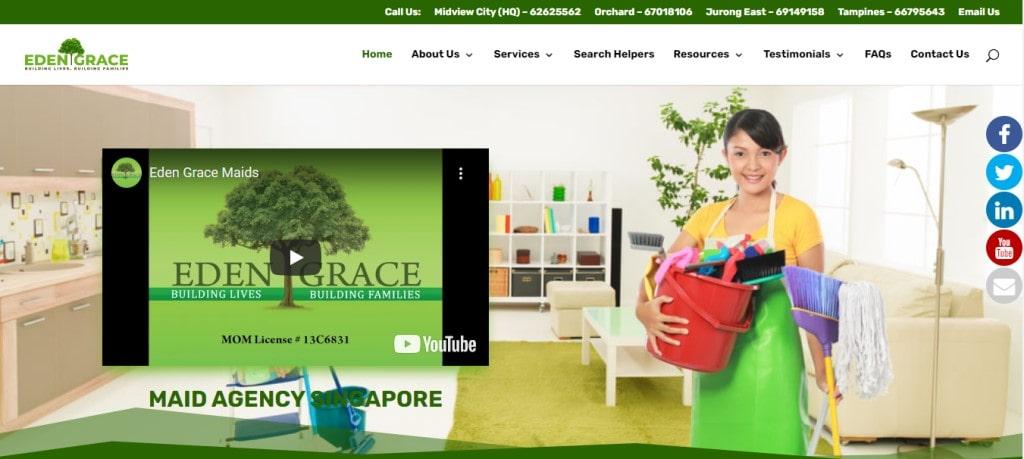 Eden Grace Maids Top Elder Care Service Providers in Singapore