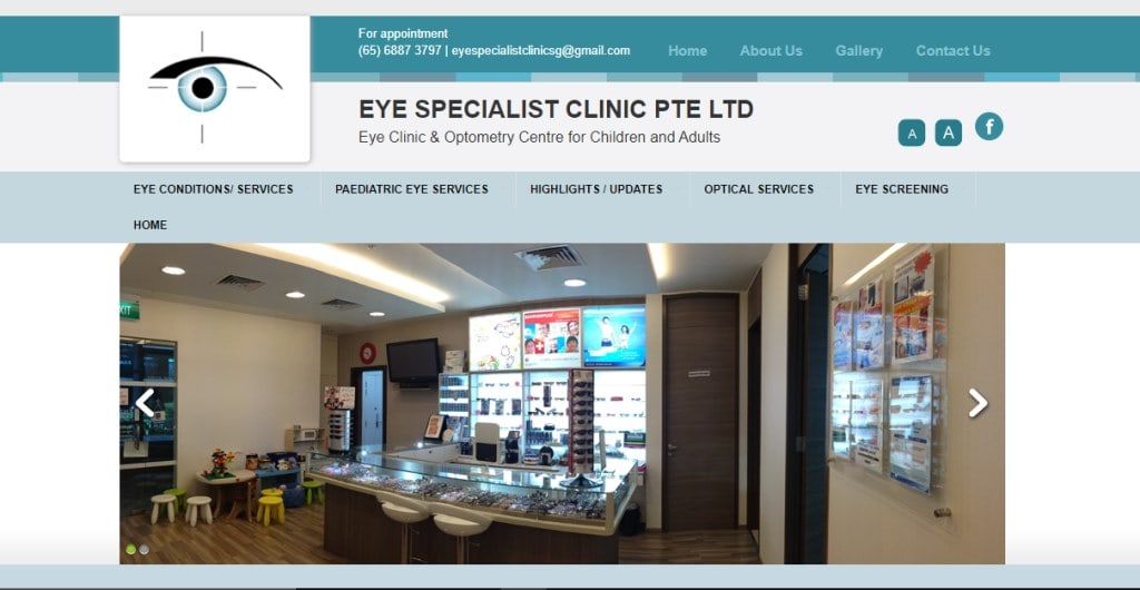 Eye Specialist Clinic Top Eye Doctors in Singapore
