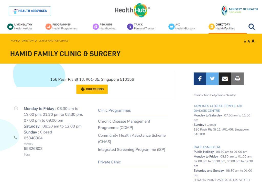 Health Hub Top General Surgeons in Singapore