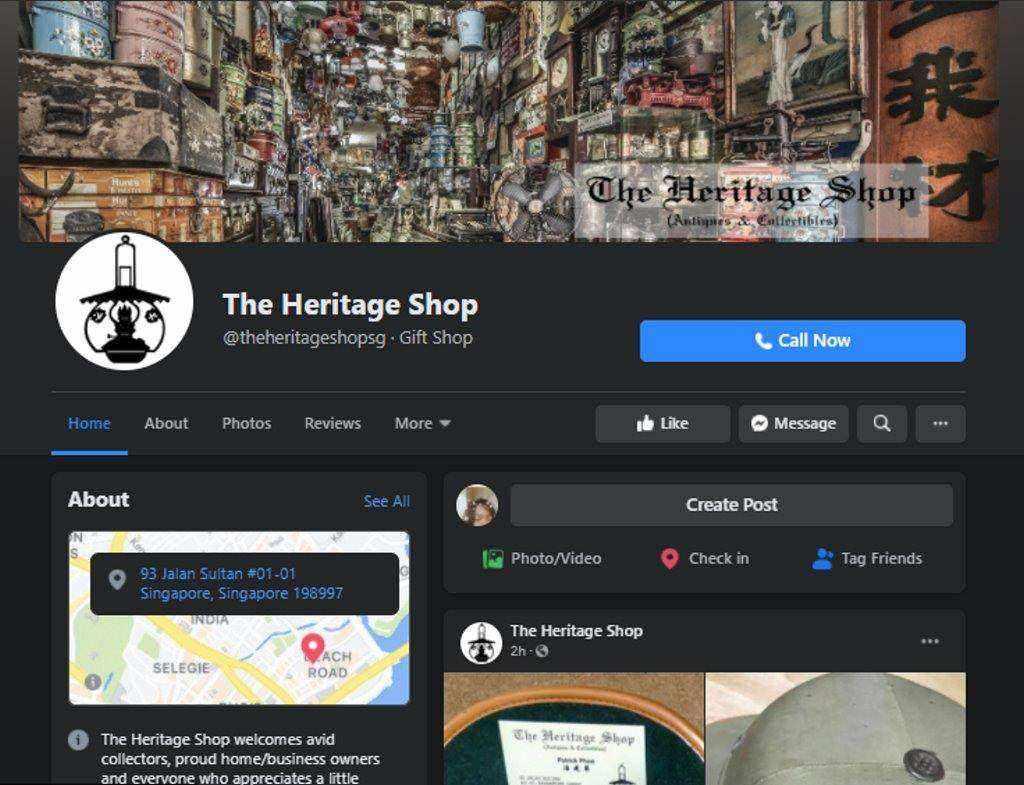 Heritage shop Top Thrift Shops inSingapore