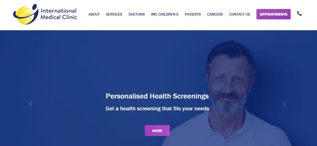 International Medical Clinic Top Clinics for Health Screening in Singapore