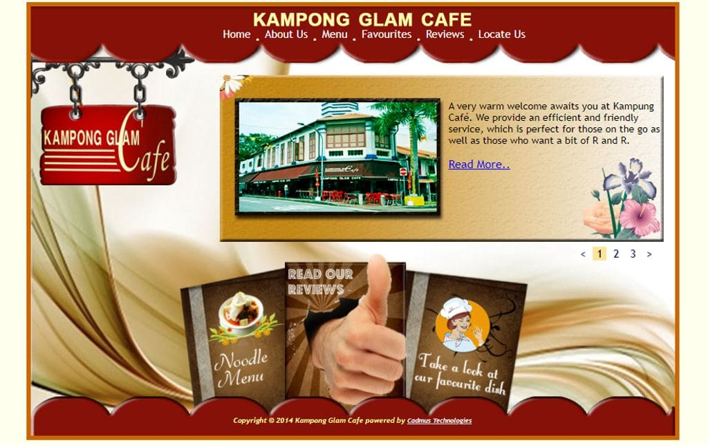 Kampong Glam Cafe Top Malay Food Restaurants in Singapore