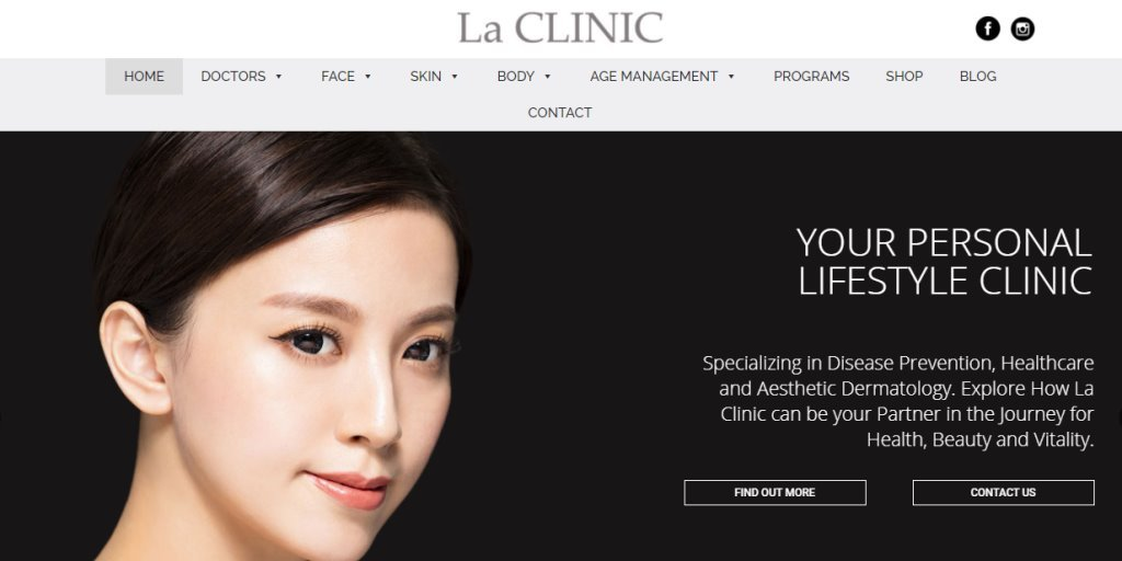LA Clinic Top Chemical Peel Treatment Centres in Singapore