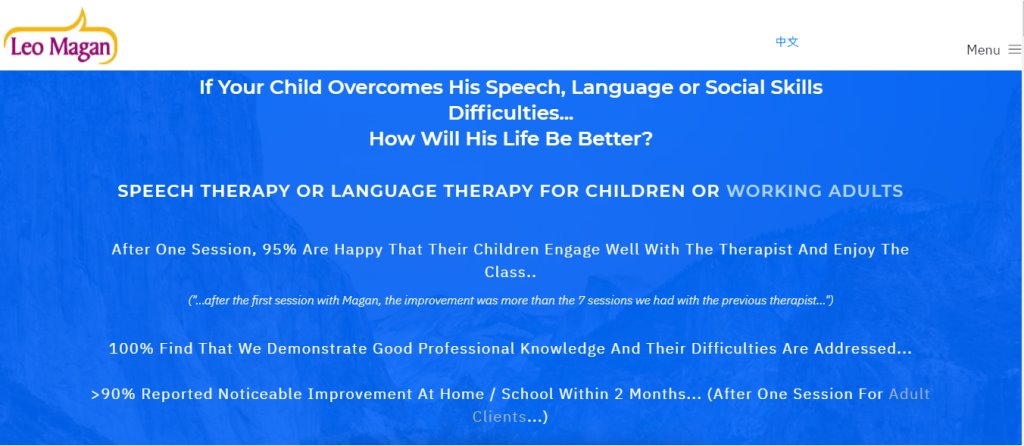 Leo Magan Top Speech Therapist in Singapore