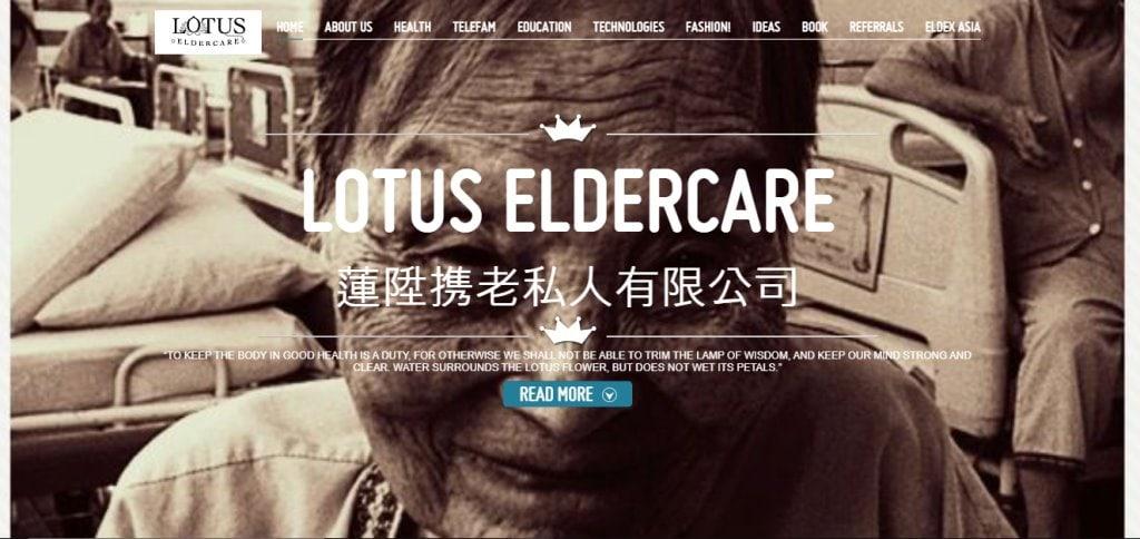 Lotus Eldercare Top Elder Care Service Providers in Singapore