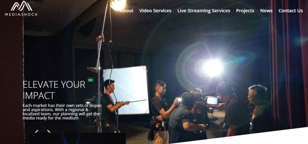 Mediashock Top Video Production Companies in Singapore