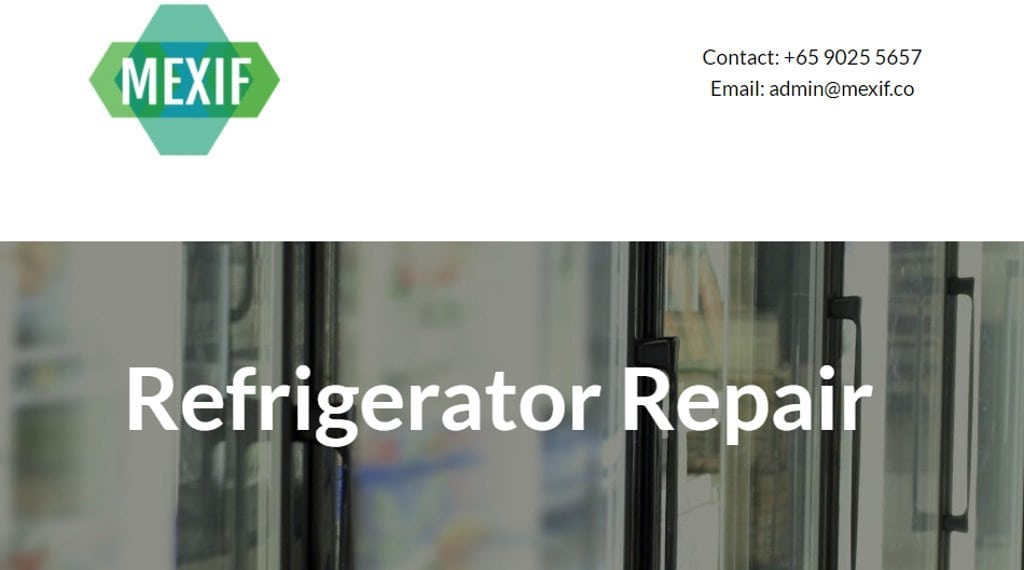 Mexif Top Refrigerator Repair Services in Singapore