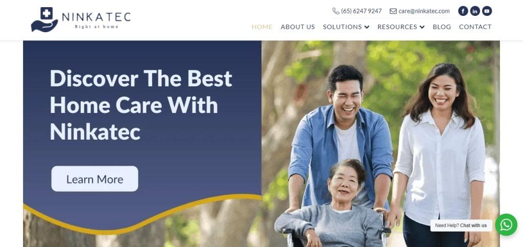 Ninkatec Top Elder Care Service Providers in Singapore