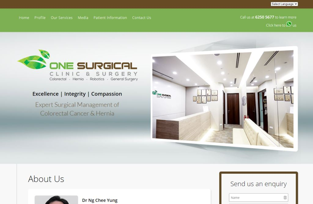 One surgical Top General Surgeons in Singapore