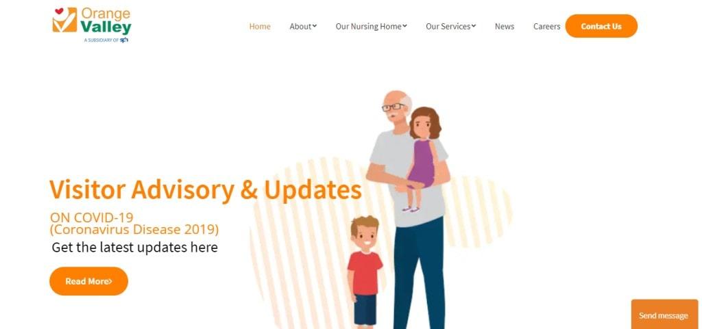 Orange Valley Top Elder Care Service Providers in Singapore