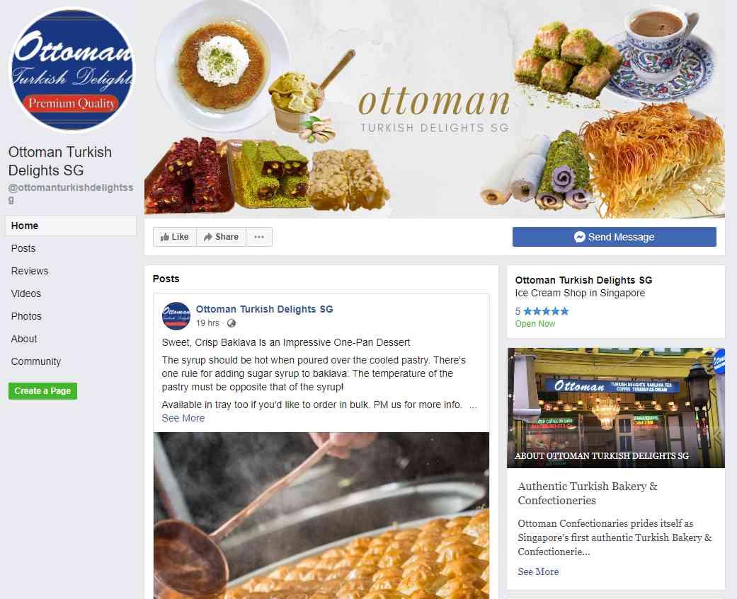 Ottoman Turkish Delight Top Turkish Restaurants in Singapore