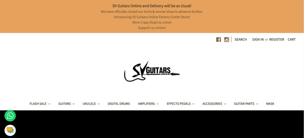 SV guitars Top Guitar Stores in Singapore