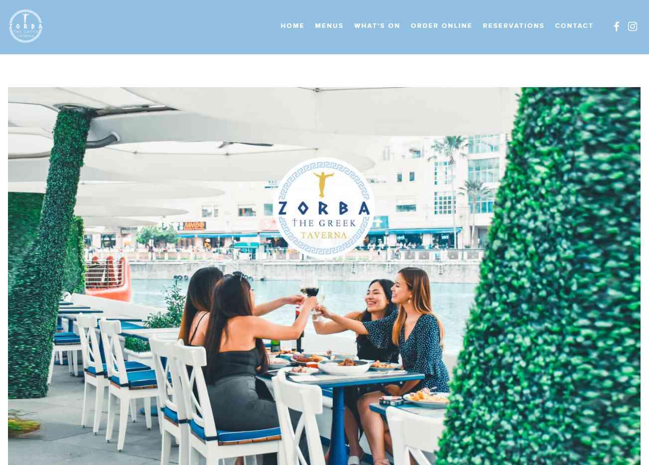 Zorba Top Turkish Restaurants in Singapore