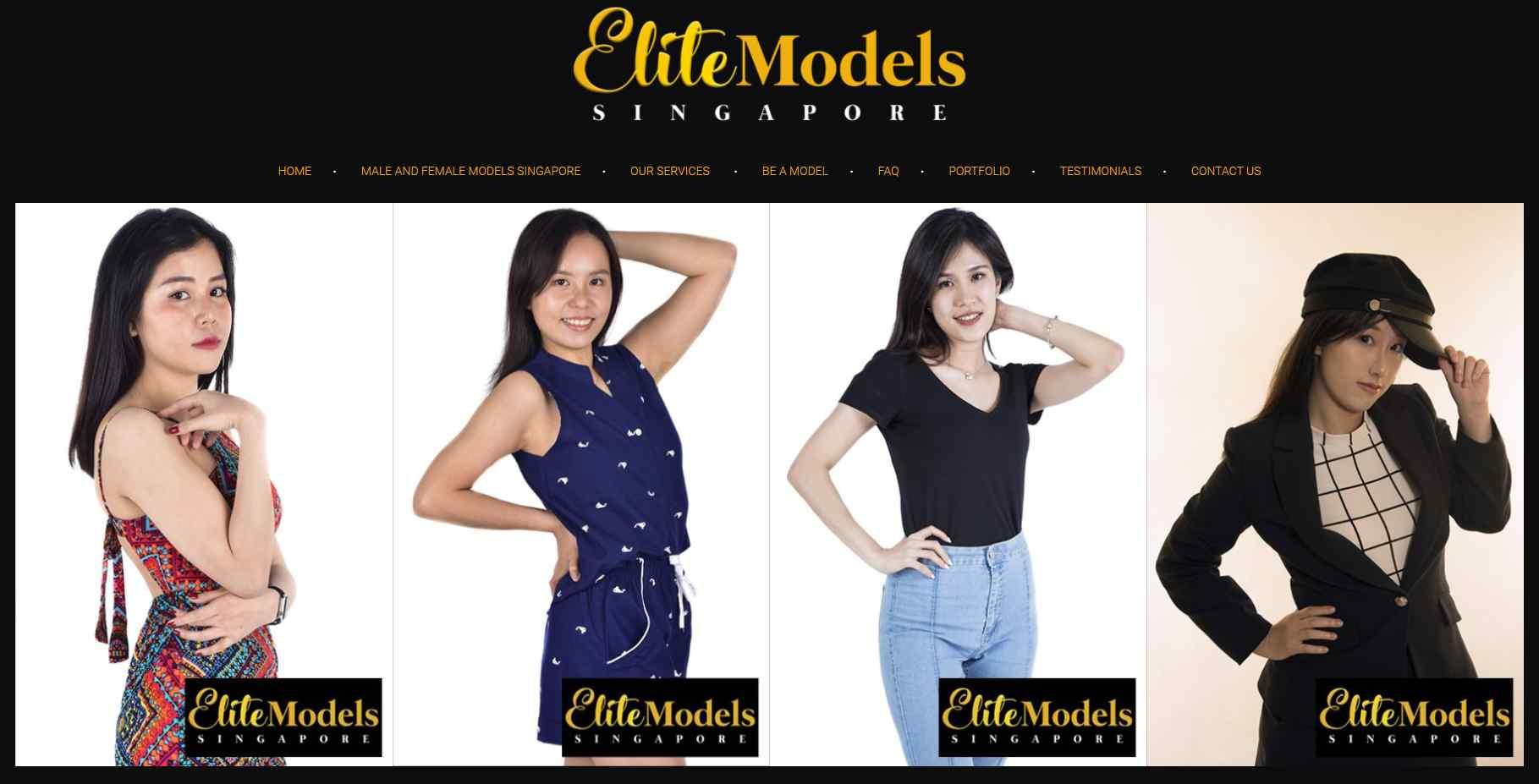 elite models Top Modelling Agencies In Singapore