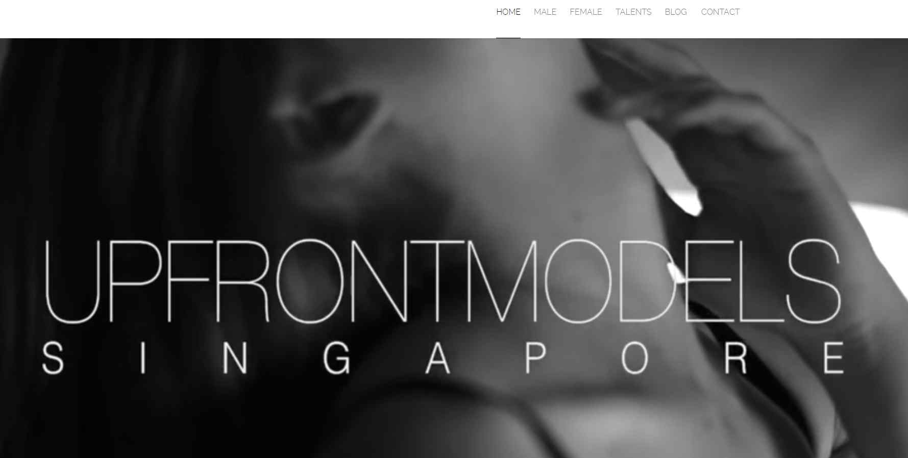 upfront models Top Modelling Agencies In Singapore