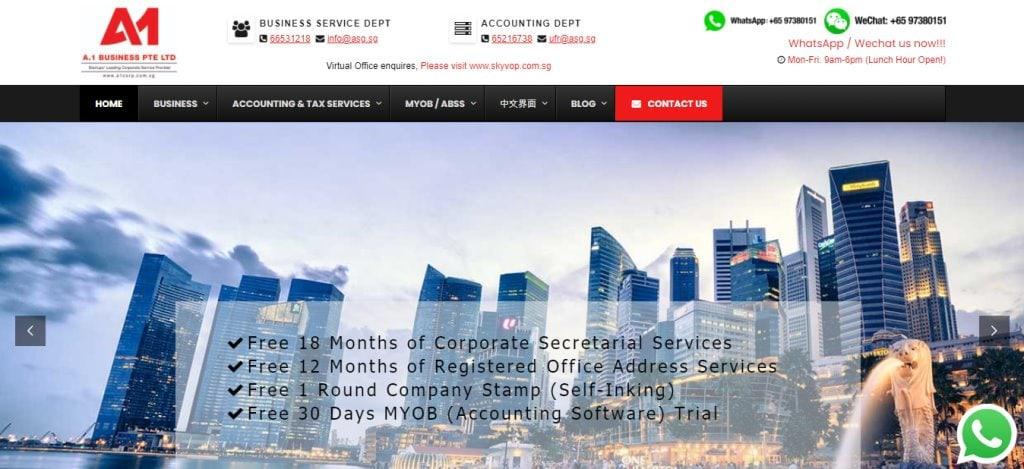 A1 Top Corporate Secretarial Service Providers in Singapore