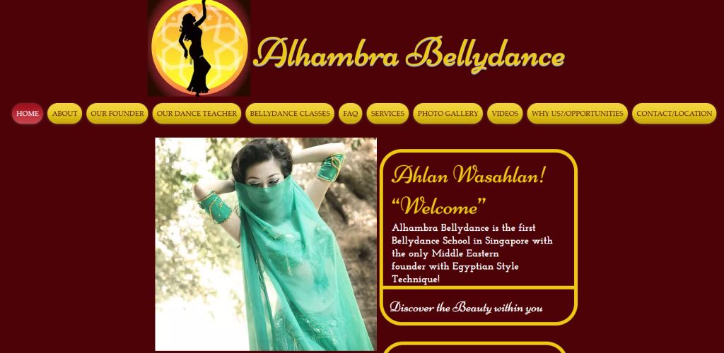 Alhambra Belly Dance Top Belly Dance Classes in Singapore
