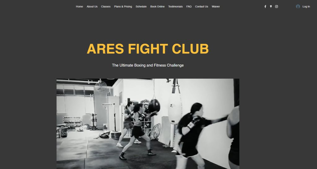 Ares Fight Club Top Boxing Lessons in Singapore