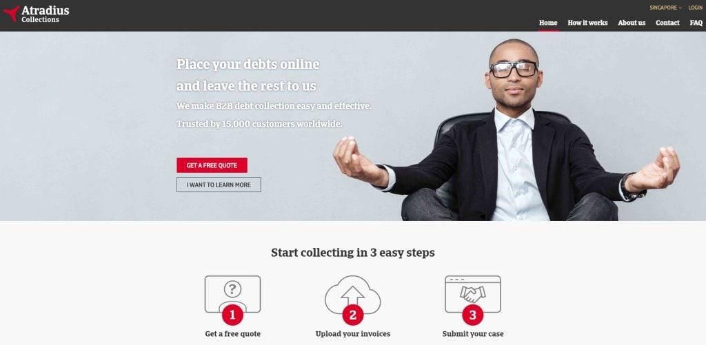 Atradius Top Debt Collection Services in Singapore