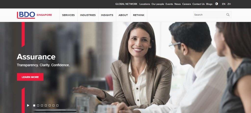 BDO Top Corporate Secretarial Service Providers in Singapore