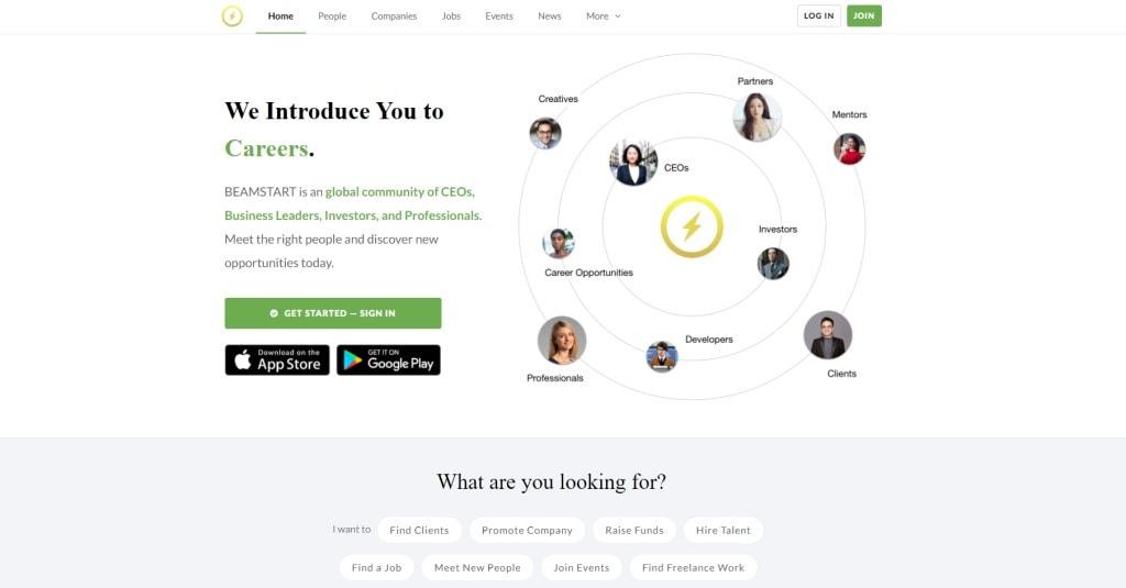 Beam job posting site singapore