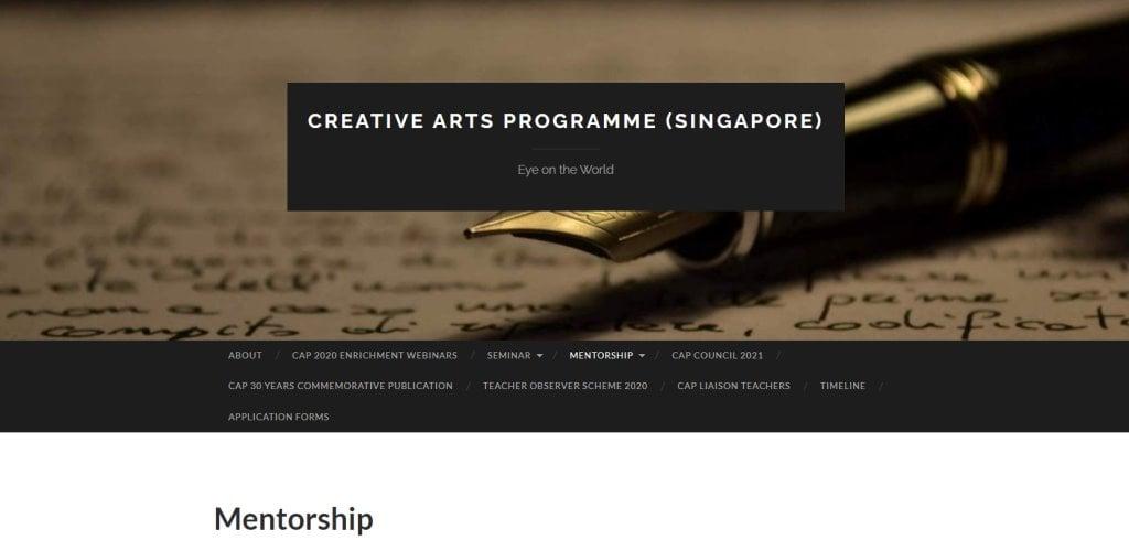 CAP Singapore Top Mentorship Programmes in Singapore