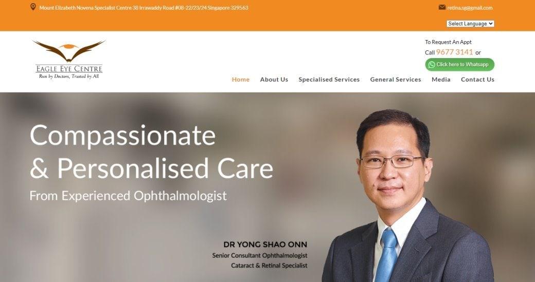 Eagle Eye Center Top Cataract Surgery in Singapore