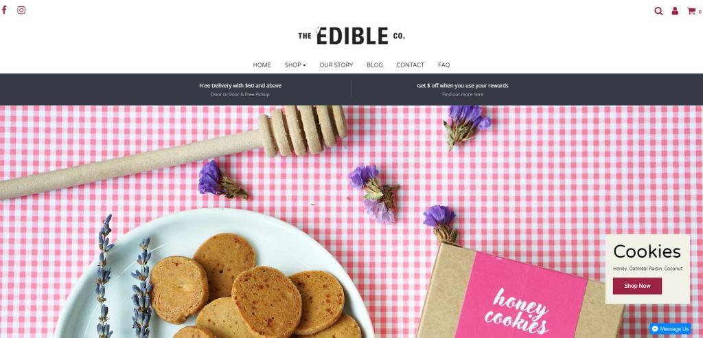 Edible Top Healthy Snack Brands Singapore