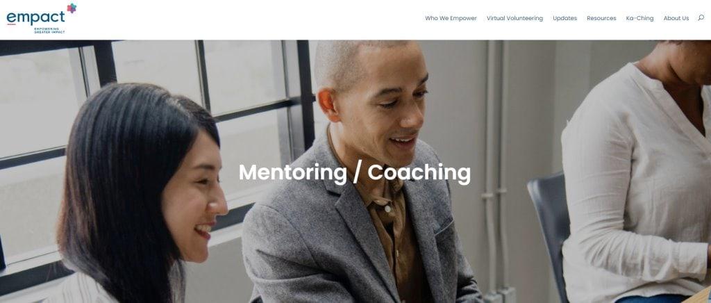 Empact Top Mentorship Programmes in Singapore
