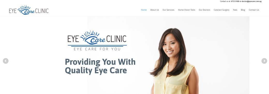 Eye Care Clinic Top Cataract Surgery in Singapore