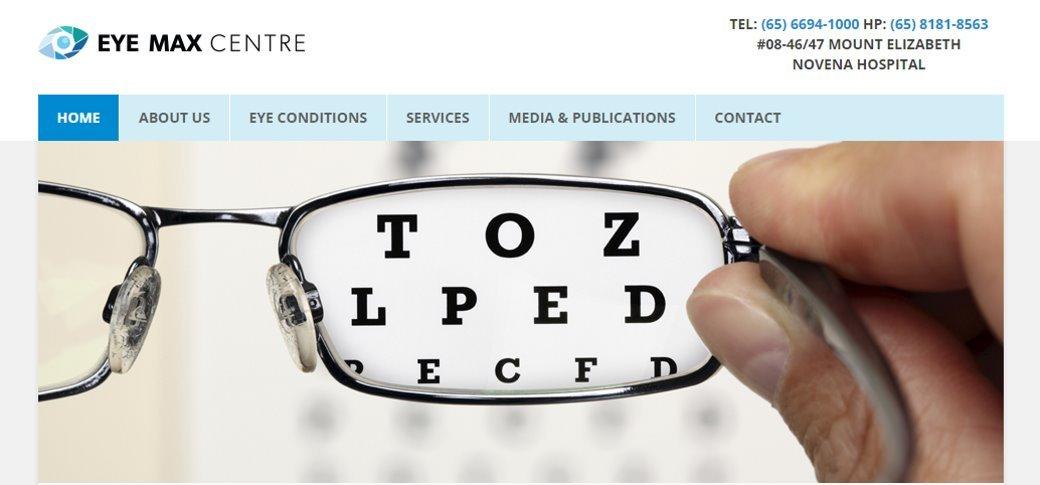 Eye Max center Top Cataract Surgery in Singapore