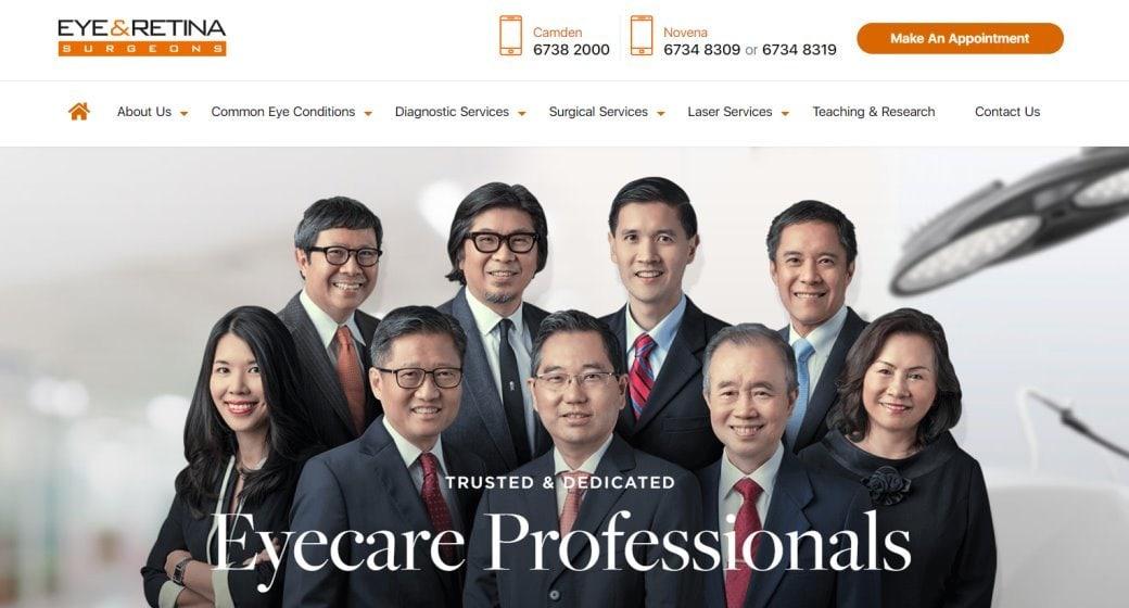 Eye & Retina Top Cataract Surgery in Singapore