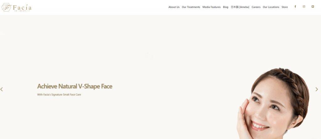 Facia Top Facial Spas in Singapore