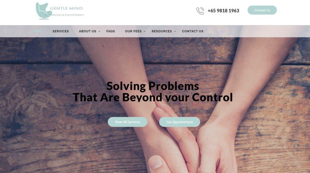 Gentle Mind Top Psychotherapists in Singapore