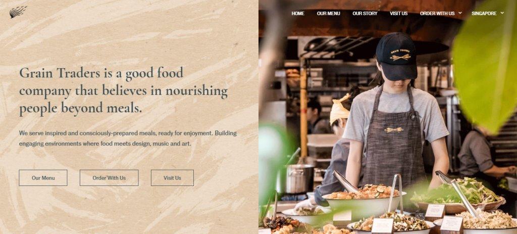 Grain Traders Top Healthy Food Restaurants In Singapore