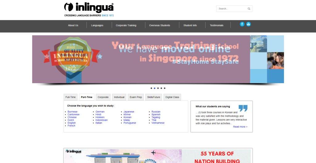 Inlingua Japanese Language Schools in Singapore