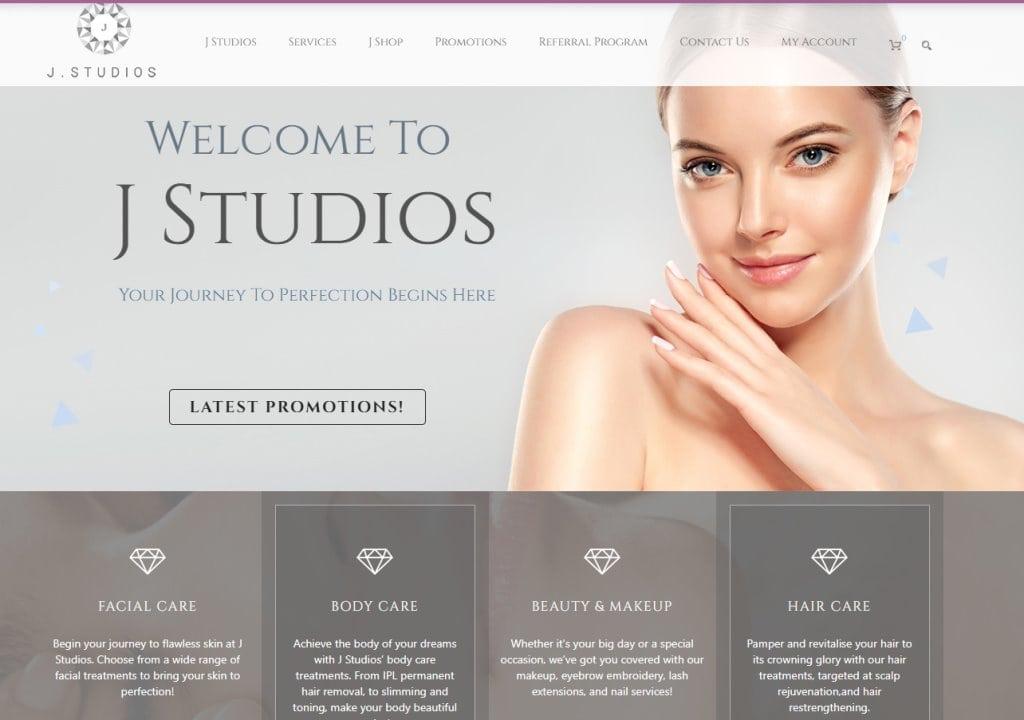 JStudios Top Facial Spas in Singapore