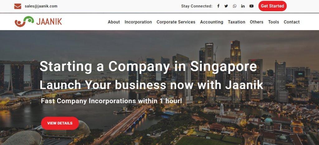 Jaanik Top Corporate Secretarial Service Providers in Singapore