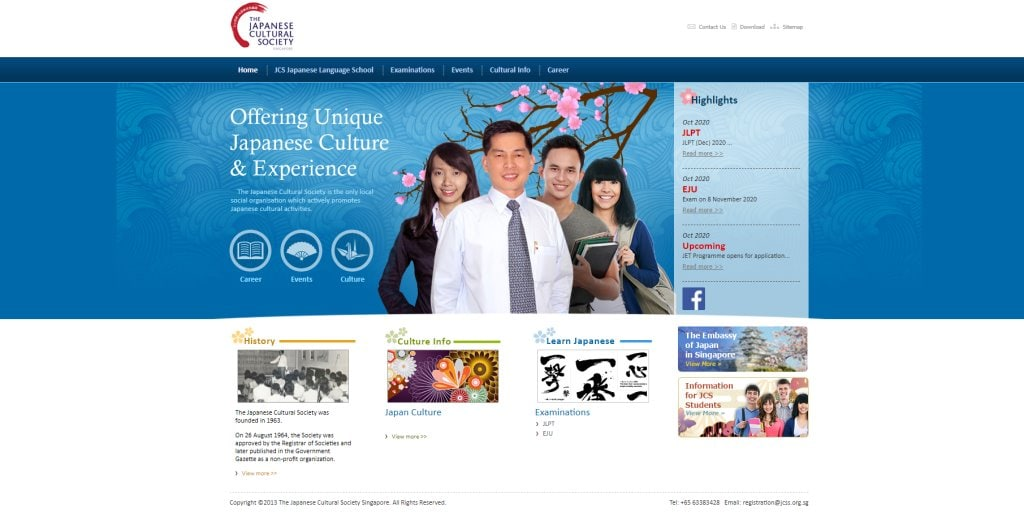 Japanese Cultural Society Japanese Language Schools in Singapore