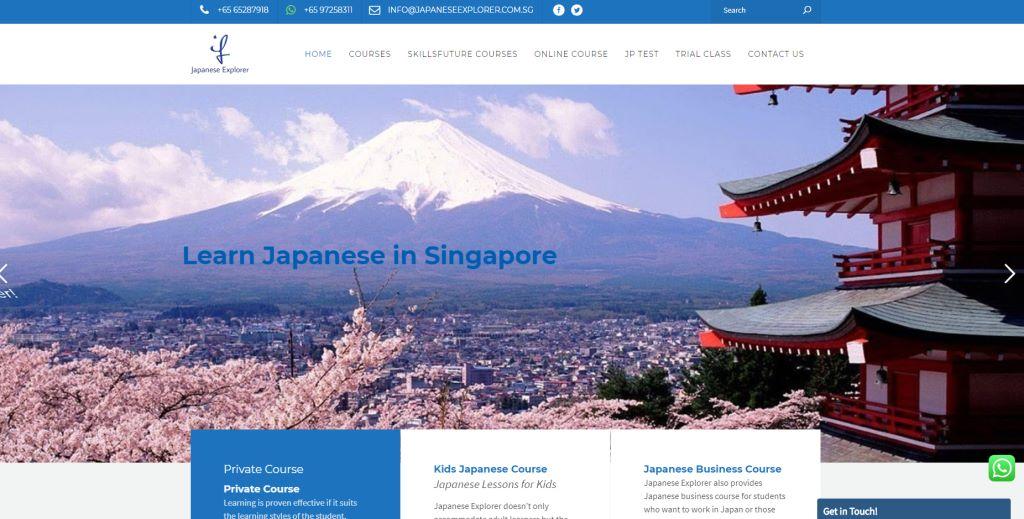 Japanese Explorer Japanese Language Schools in Singapore