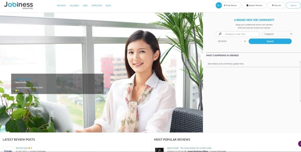Jobiness  job posting site singapore