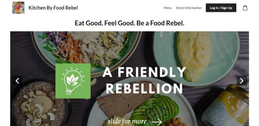 Kitchen by Food Rebel Top Healthy Food Restaurants In Singapore