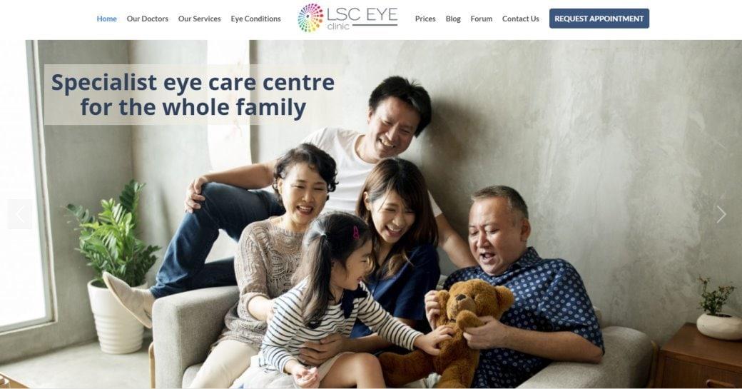 LSC eye Top Cataract Surgery in Singapore