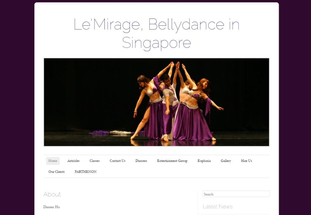 Le Mirage Belly Dance in Singapore Top Belly Dance Classes in Singapore