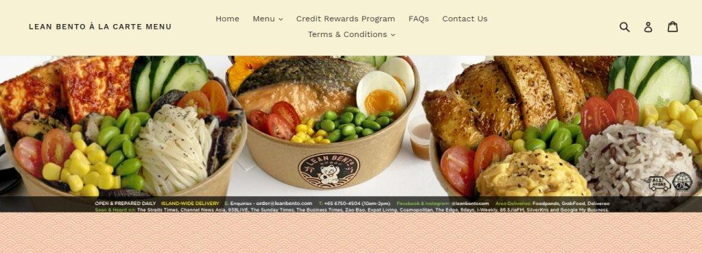 Lean Bento Top Healthy Food Restaurants In Singapore